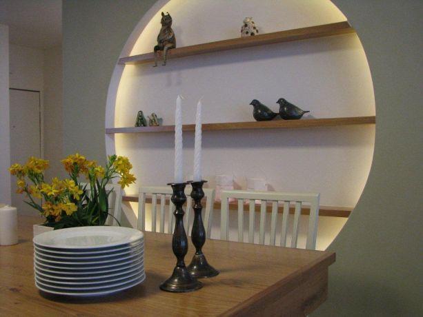 דירה ברח' שלום אש, ת''א. פינת אוכל -סטודיו פרטים. צילום: לינור קמפאנו.