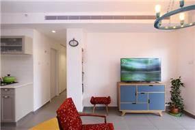 דירה ברחוב מרכולת, תל אביב. סלון, פרטים-סטודיו לאדריכלות ולעיצוב