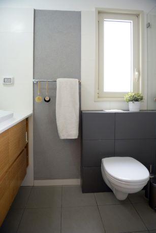 דירת קבלן ברחוב הברוש, נתניה. חדר רחצה יוקרתי, פרטים - סטודיו לעיצוב ואדריכלות