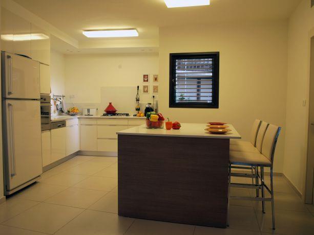 דירה בבית צורי, רמת אביב, ת''א. מטבח-סטודיו פרטים. צילום: לינור קמפאנו.