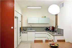 דירה במגדלי נתנאל, רמת אביב, ת''א. מטבח - סטודיו פרטים. צילום: אבישי פינקלשטיין.