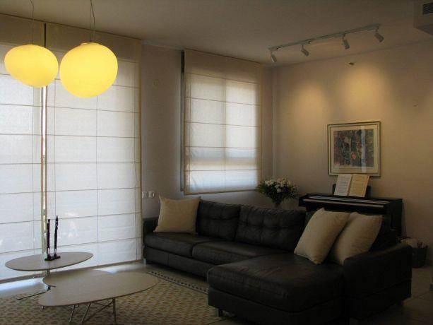 דירה ברח' משה סנה, אם המושבות, פ''ת. עיצוב סלון - סטודיו פרטים. צילום: לינור קמפאנו.