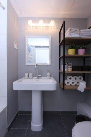 דירה ברחוב מרכולת, תל אביב. חדר אמבטיה, פרטים-סטודיו לאדריכלות ולעיצוב