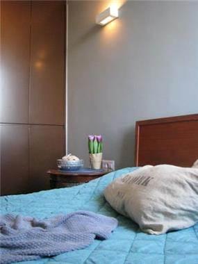 דירה ברחוב חיים לבנון, תל אביב. חדר שינה, פרטים-סטודיו לאדריכלות ולעיצוב