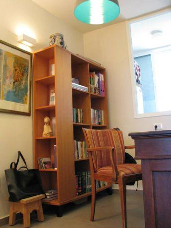 דירה ברחוב חיים לבנון, תל אביב. חדר עבודה, פרטים-סטודיו לאדריכלות ולעיצוב