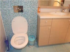 חדר רחצה ושירותים - שקמה ויסמן זלצר - תכנון ועיצוב פנים