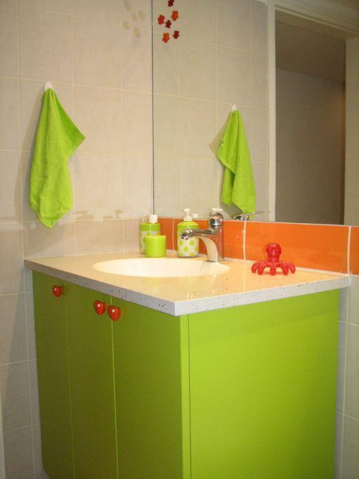 חדר אמבטיה ילדים - שקמה ויסמן זלצר - תכנון ועיצוב פנים