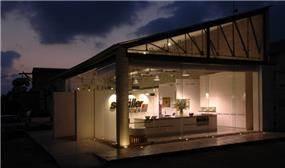 אולם תצוגה למטבחים - דרור ברדה אדריכלים