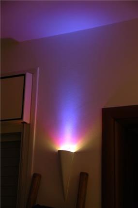 מנורה צבעונית - אילנה חכים עיצובים