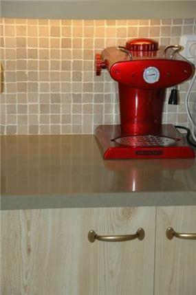 משטח עבודה במטבח - אילנה חכים עיצובים
