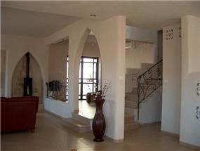 מבואת כניסה, בית פרטי, כרמיאל - קו אדריכלים