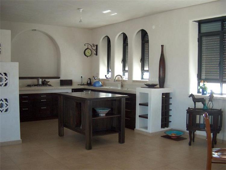 מטבח, בית פרטי, כרמיאל - קו אדריכלים