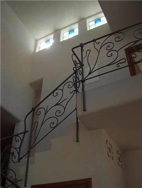 מדרגות, בית פרטי, כרמיאל - קו אדריכלים