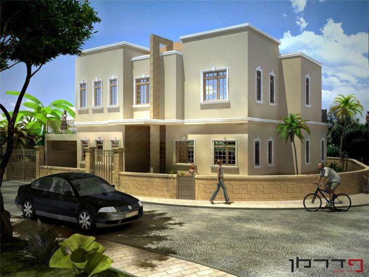 בית פרטי, כפר אהרון - פדרמן אדריכלים