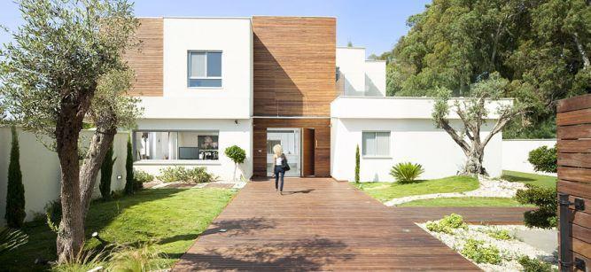 חזית בית בעיצוב לימור בן הרוש