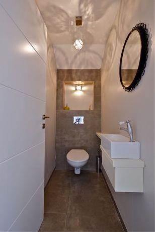 חדר שרותי אורחים בעיצוב לימור בן הרוש