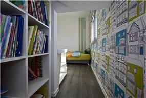 חדר ילדים בעיצוב לימור בן הרוש