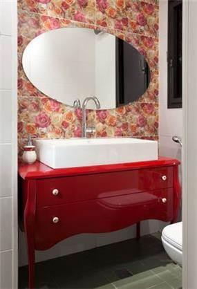 חדר אמבטיה הורים בעיצוב לימור בן הרוש