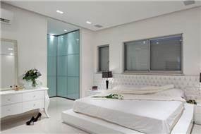 חדר שינה בעיצוב לימור בן הרוש