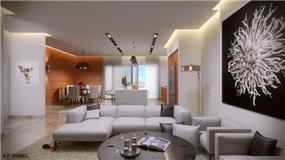 חלל בית בעיצוב לימור בן הרוש