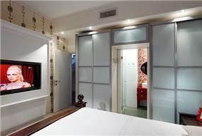 חדר שינה בעיצובה של לימור בן הרוש