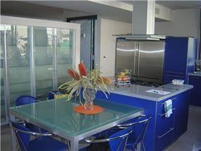 מטבח ופינת אוכל, בית פרטי - יפעת אשר