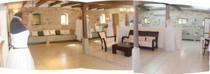 סטודיו לעיצוב שמלות כלה אלוני אבא - גלי הנדל אדריכלות ועיצוב פנים