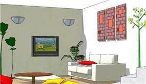 חדר משחקים לילדים - בלס יותם- עיצוב ואדריכלות פנים