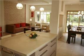 חדר מגורים - רוני באריל - אדריכלות ועיצוב פנים