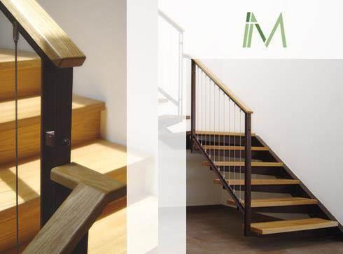 מדרגות\פרט מעקה - IMdesign