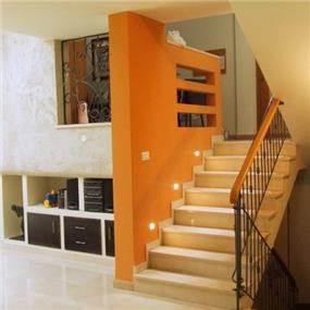 חדר מדרגות עיצוב ורד פולקמן