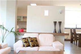 סלון, דירה, רעננה - תמי אורנשטין אדריכלים
