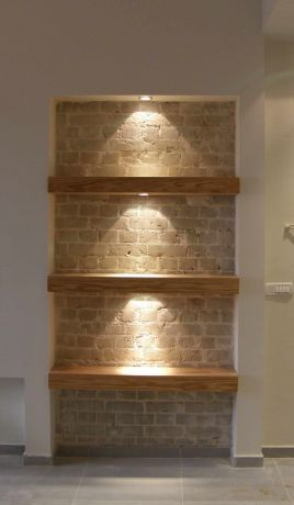 קיר לבנים - תמי אורנשטין אדריכלים