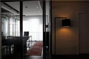 חדר עבודה מעוצב, אושרת אביב - אדריכלות פנים