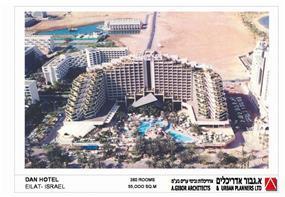 """מלון דן אילת - א.גבור אדריכלים אדריכלות ובינוי ערים בע""""מ"""