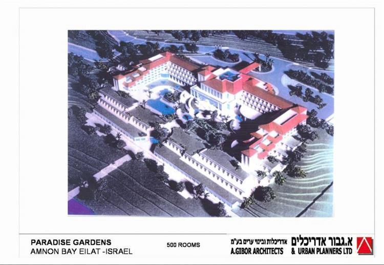 """מלון מפרץ אמנון - א.גבור אדריכלים אדריכלות ובינוי ערים בע""""מ"""