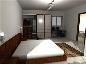 חדר שינה - אדרת אדריכלות ועיצוב פנים