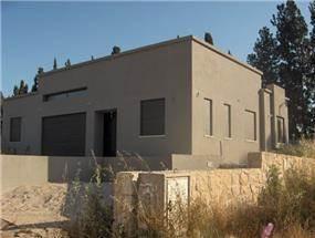 חזית בית בתכנון האדריכלית גלית אליהו