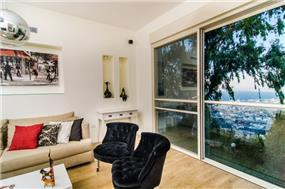 סלון משקיף לנוף, איריס מרקו עיצוב ואדריכלות פנים