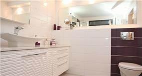 חדר אמבטיה עיצובי, איריס מרקו - עיצוב ואדריכלות פנים