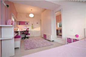 חדר שינה בגווני ורוד, איריס מרקו - עיצוב ואדריכלות פנים