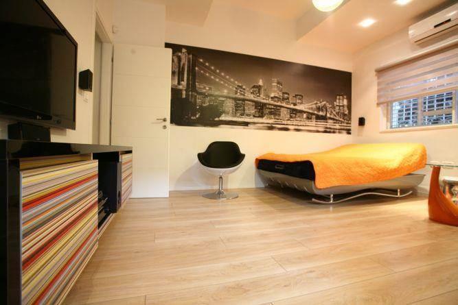חדר מודרני, איריס מרקו - עיצוב ואדריכלות פנים
