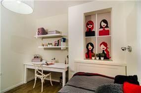 פינת עבודה בחדר שינה, איריס מרקו - עיצוב ואדריכלות פנים