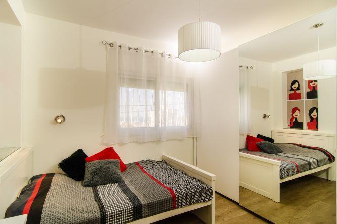חדר שינה מודרני, איריס מרקו - עיצוב ואדריכלות פנים