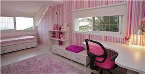 חדר ילדים ורוד, איריס מרקו - עיצוב ואדריכלות פנים
