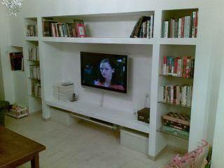 פינת טלוויזיה - DETAILS תכנון אדריכלי עיצוב פנים וביצוע.