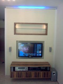 פינת טלויזיה - DETAILS תכנון אדריכלי עיצוב פנים וביצוע.