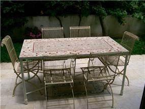 שולחן רטרו - נעמי גרינברג