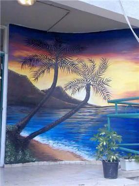 ציור קיר - אייל עיצובים