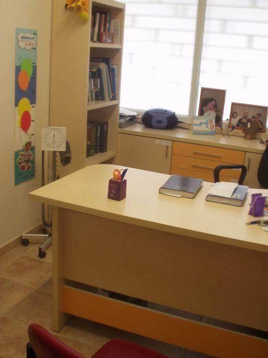 חדר טיפולים במרפאת ילדים